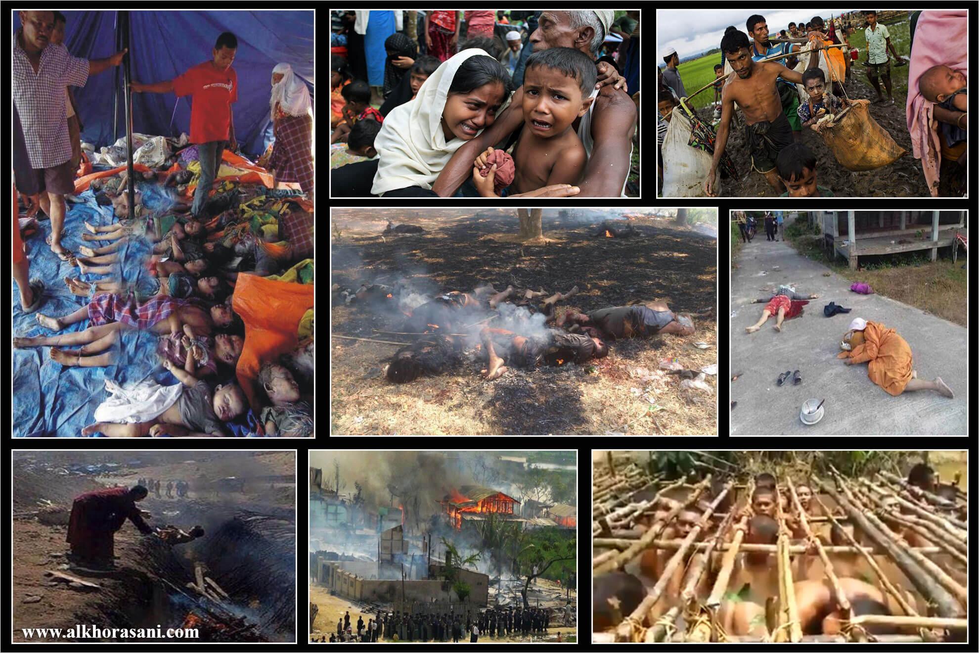 فجایع میانمار