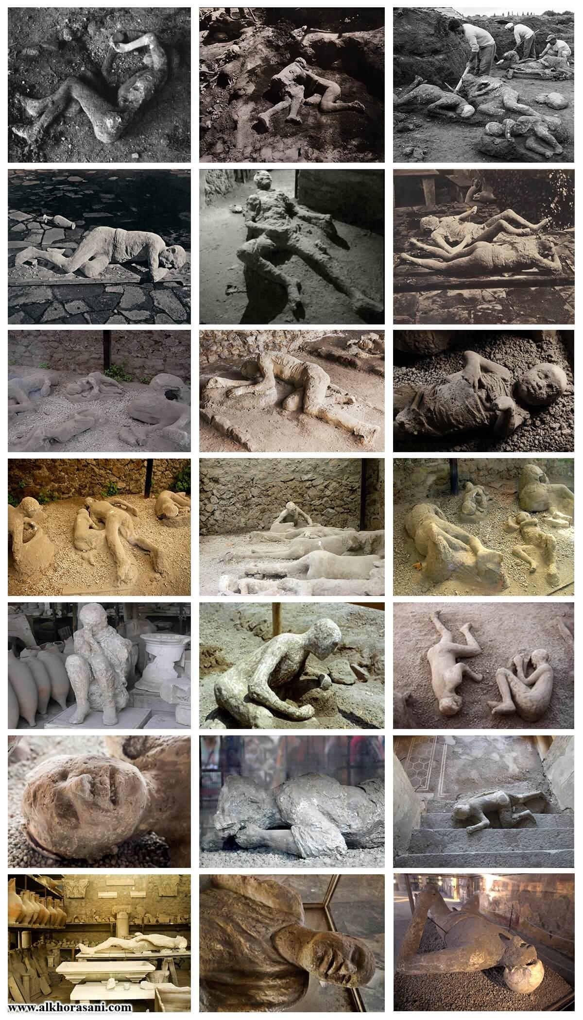 аҷсодӣ сокинони Помпей